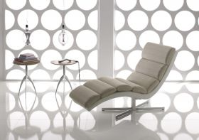chaise longue crystal il benessere